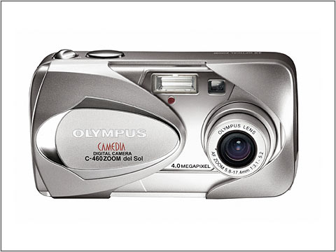 the new olympus c 460 zoom del sol digital camera features an innovative sunshine lcd to allow you to enjoy your shots even on a bright day