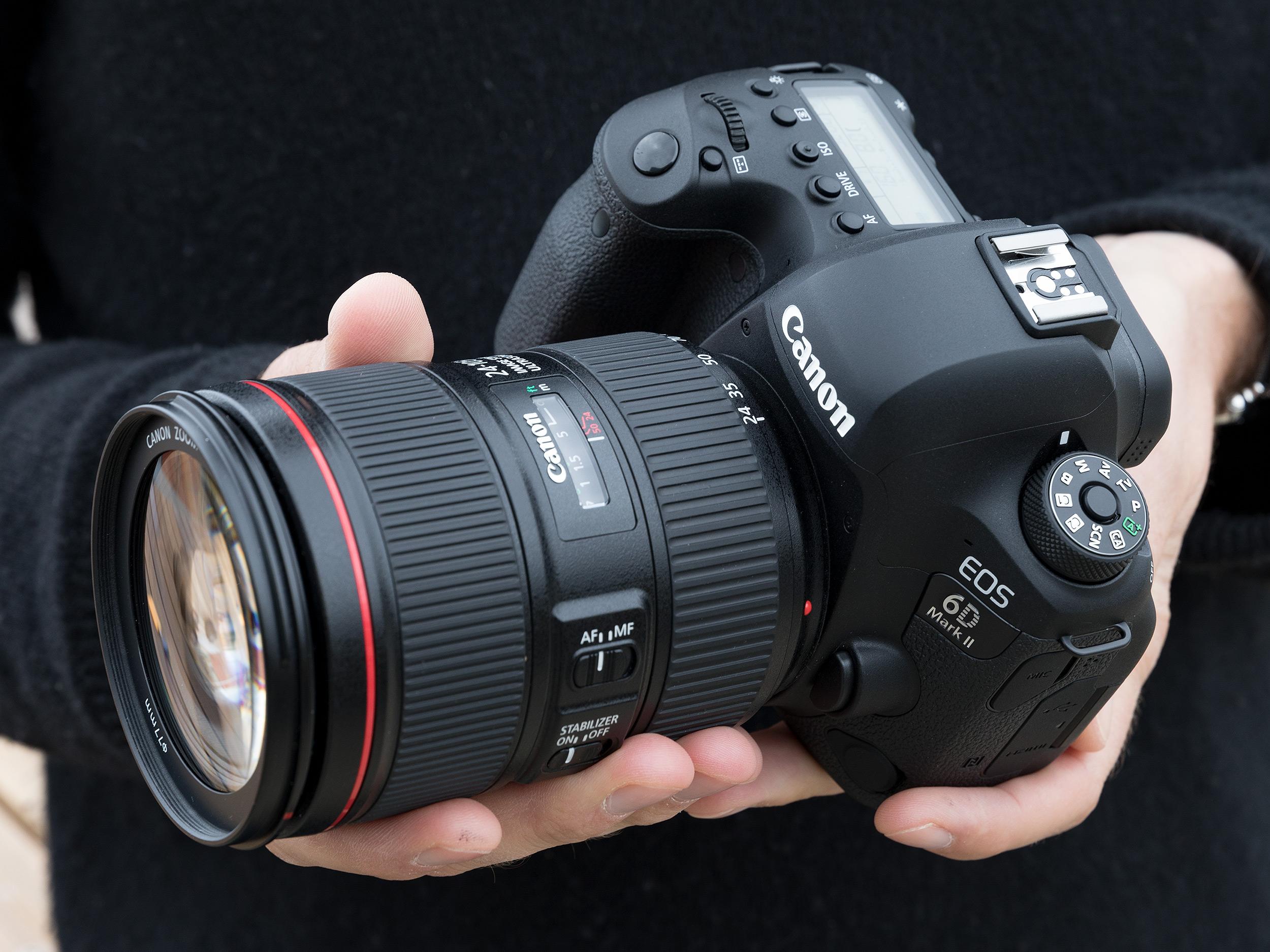 Meet the EOS 6D Mark II - Canon\'s entry-level full-frame DSLR ...