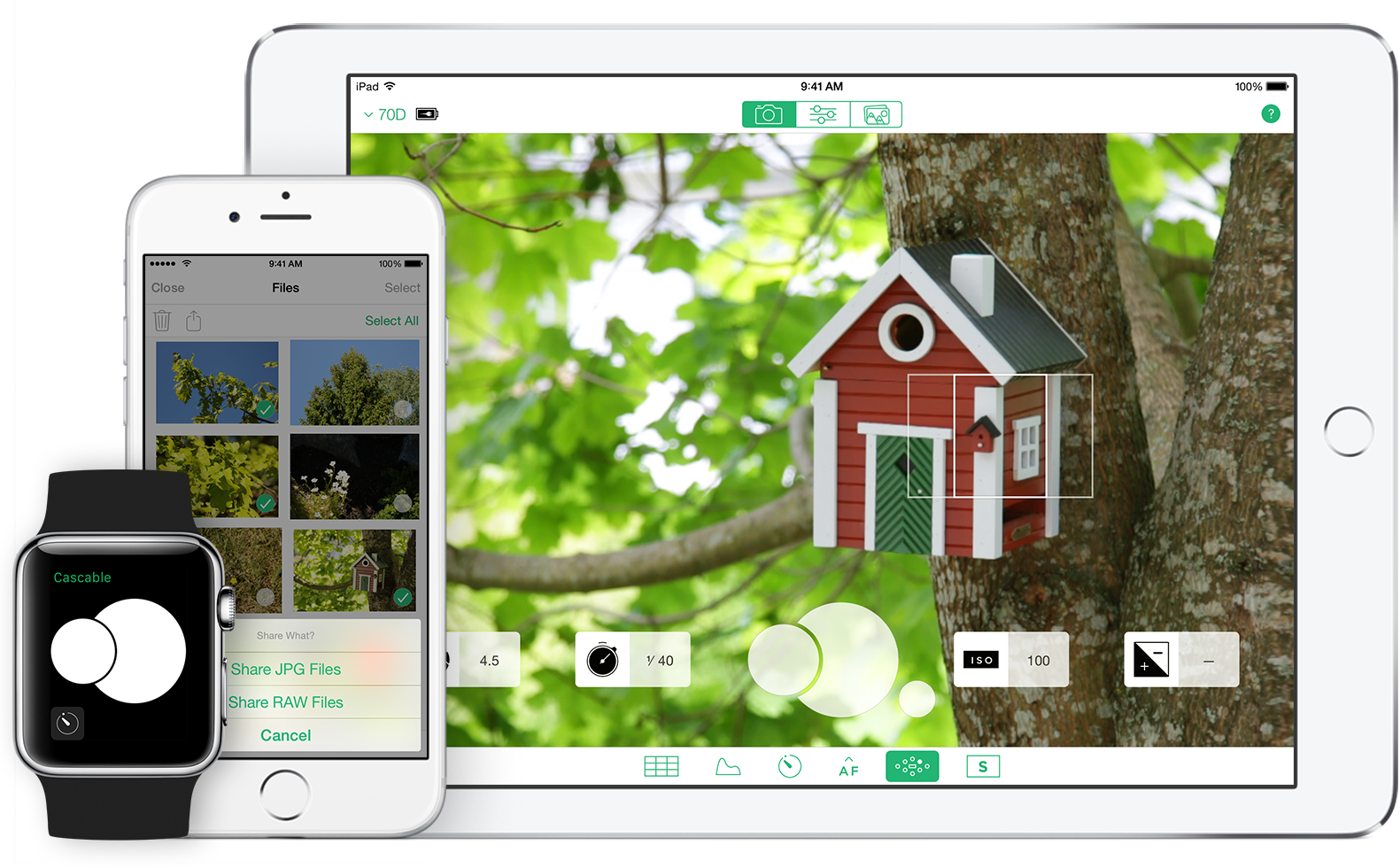 Cascable iOS app offers remote control of WiFi-enabled