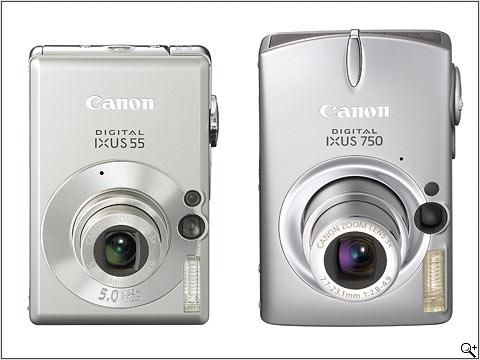 Canon PowerShot SD450 & SD550