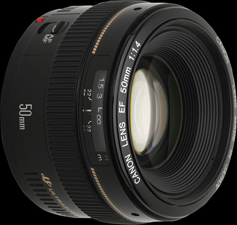 Canon EF 50mm F1 4 USM review: Digital Photography Review