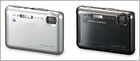 setting out to create the highest level digital camera in terms of image quality functions design and size konica minolta developed the dimage x1 - Minolta Digital Camera