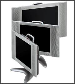 Sharp Flat Panel TV Doubles As Digital Photo Frame