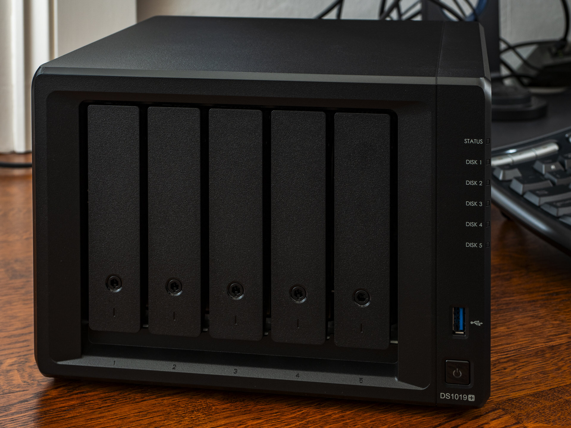 Hands on: Synology DS1019+ is a five-drive NAS storage solution for