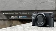 Canon PowerShot G7 X Mark III Product Overview