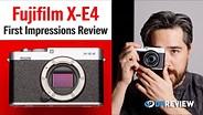 Fujifilm X-E4第一印象评论(以及克里斯地下室的巡演)GydF4y2Ba