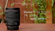 Canon RF 24-105mm F4L USM product overview