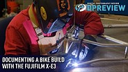 Documenting a bike build with the Fujifilm X-E3