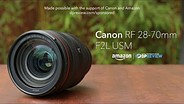 Canon RF 28-70mm F2L USM product overview