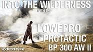 使用Lowepro Protactic BP 300 AW II在爱达荷州勘探