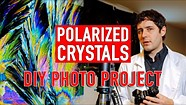 DIY Photo Project: Create beautiful abstract photos with polarized crystals