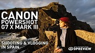Jessica Whitaker and the Canon PowerShot G7 X Mark III in Basque Country