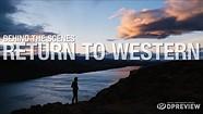 与索尼和摄影师马克斯·洛一起拍摄了《回归西部》