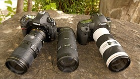 DPReview TV: Tamron 70-210mm F4 Di VC vs Canon 70-200 F4 IS II & Nikkor 70-200 F4 VR
