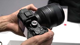 CP+ 2016: Sony's G Master lenses and the a6300