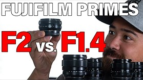 Which are the best Fujifilm prime lenses: XF F1.4 vs F2 (18mm, 23mm and 35mm)
