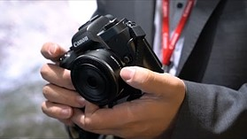 Quick look: the Canon EOS M5 at Photokina 2016
