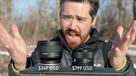 DPReview TV: Tamron 35mm F2.8 ($349) vs Sony/Zeiss 35mm F2.8 ($800)